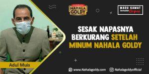 Read more about the article Sesak Napasnya Berkurang Setelah Minum Nahala Goldy