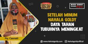Read more about the article Setelah Minum Nahala Goldy Daya Tahan Tubuhnya Meningkat