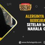 Alerginya Mulai Berkurang Setelah Minum Nahala Goldy