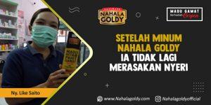 Read more about the article Setelah Minum Nahala Goldy Ia Tidak Lagi Merasakan Nyeri