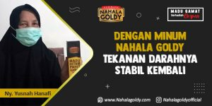 Read more about the article Dengan Minum Nahala Goldy Tekanan Darahnya Stabil Kembali