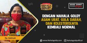 Read more about the article Dengan Nahala Goldy Asam Urat, Gula Darah, dan Kolesterolnya Kembali Normal